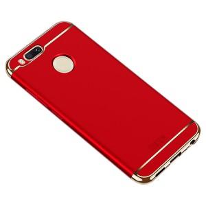 MOFI Ya Shield   Пластиковый чехол для Xiaomi Mi 5X с глянцевой вставкой цвета металлик
