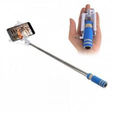 Телескопический Mini монопод для селфи (кабель 3,5) (13.8см - 48см) для Huawei Y3 II