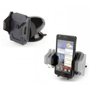 "Kropsson HR-S200 II | Автодержатель для смартфона 3 - 5.3 дюйма на торпеду для Apple iPhone 7 (4.7"")"