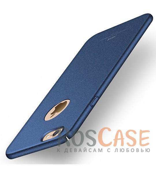 Пластиковый чехол Msvii Quicksand series для Apple iPhone 7 (4.7) (Синий)Описание:производитель - Msvii;совместим с Apple iPhone 7 (4.7);материал  -  пластик;тип  -  накладка.&amp;nbsp;Особенности:матовая поверхность;имеет все разъемы;тонкий дизайн не увеличивает габариты;накладка не скользит;защищает от ударов и царапин;износостойкая.<br><br>Тип: Чехол<br>Бренд: Epik<br>Материал: Пластик