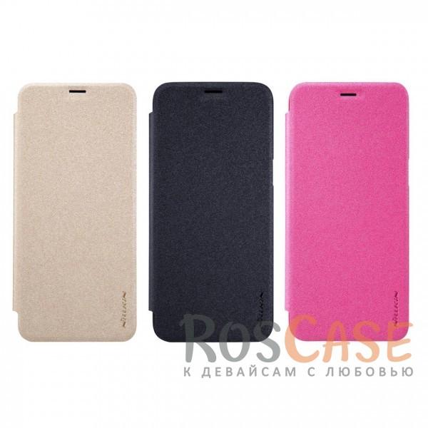 Защитный чехол-книжка для Samsung G950 Galaxy S8Описание:бренд&amp;nbsp;Nillkin;спроектирован для Samsung G950 Galaxy S8;материалы: поликарбонат, искусственная кожа;блестящая поверхность;не скользит в руках;предусмотрены все необходимые вырезы;защита со всех сторон;тип: чехол-книжка.<br><br>Тип: Чехол<br>Бренд: Nillkin<br>Материал: Искусственная кожа