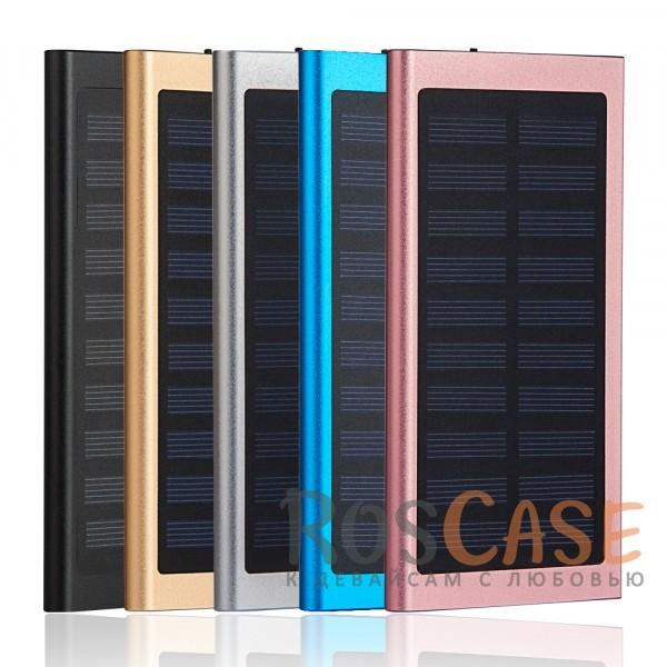 Фото Портативное зарядное устройство Power Bank SZFY с солнечной батареей 15000mAh