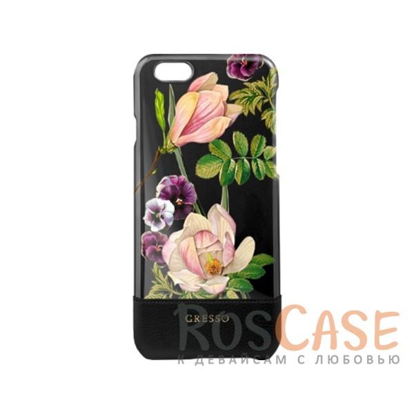 Пластиковая накладка Gresso Богема для Apple iPhone 7 (4.7) (Черный)Описание:производитство компании Gresso;совместимость -&amp;nbsp;Apple iPhone 7 (4.7);материалы - пластик, искусственная кожа;тип - накладка.<br><br>Тип: Чехол<br>Бренд: Gresso<br>Материал: Пластик