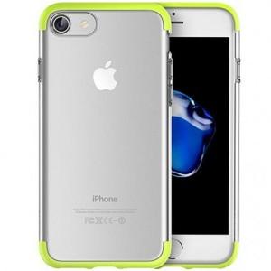 Rock Cheer | Силиконовый чехол для Apple iPhone 7 с защитными цветными вставками
