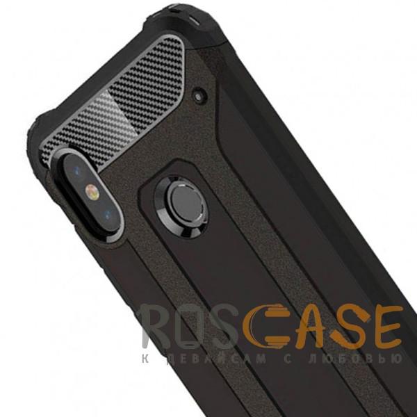 Фотография Черный Immortal | Противоударный чехол для Xiaomi Redmi Note 6 Pro