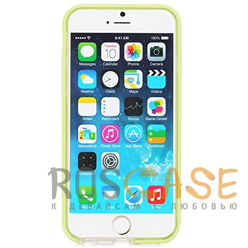 фото бампер ROCK Duplex Slim Guard для Apple iPhone 6/6s (4.7