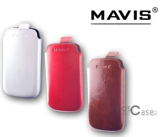 фото кожаного футляра mavis premium 122x63 для ST26i/LT18i/i9192