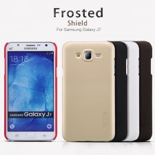 фото Матовый чехол Nillkin Super Frosted Shield для Samsung J700H Galaxy J7 (+ пленка)