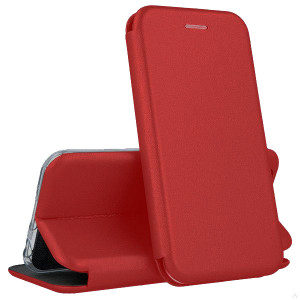 Open Color | Кожаный чехол-книжка  для Xiaomi Mi 10 Lite