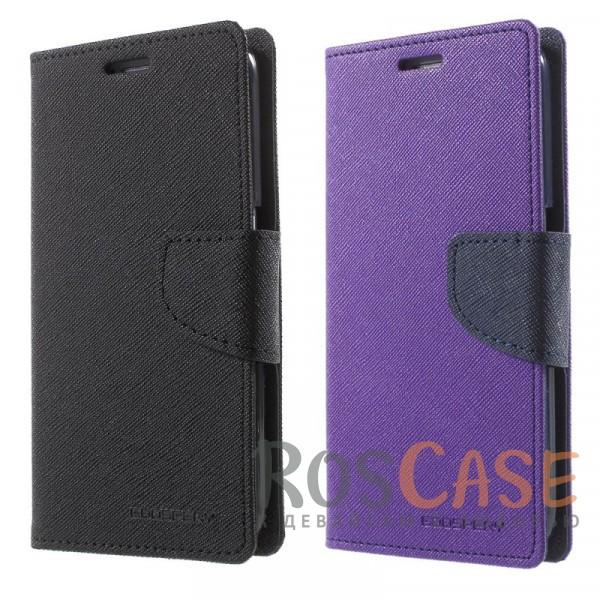 Прочный чехол-книжка Mercury Fancy Diary из эко-кожи с магнитной застежкой и функцией подставки для Samsung Galaxy S6 G920F/G920D DuosОписание:бренд&amp;nbsp;Mercury;разработан для Samsung Galaxy S6 G920F/G920D Duos;материалы  -  искусственная кожа, термополиуретан;формат  -  чехол-книжка;магнитная застежка;функция подставки;не скользит в руках.<br><br>Тип: Чехол<br>Бренд: Mercury<br>Материал: Искусственная кожа