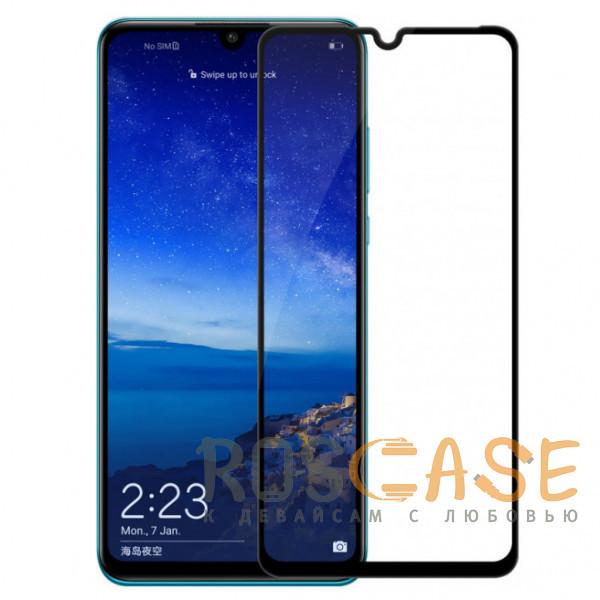 Фото Черный 5D защитное стекло для Huawei P30 на весь экран