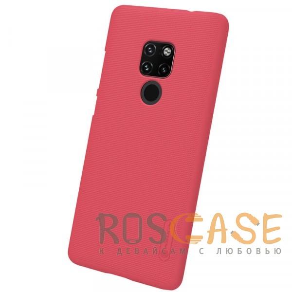 Изображение Красный Nillkin Super Frosted Shield | Матовый чехол для Huawei Mate 20
