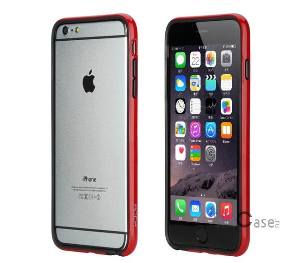 Бампер ROCK Duplex Slim Guard для Apple iPhone 6/6s plus (5.5) (Красный / Red)Описание:производитель  - &amp;nbsp;Rock;создан специально для Apple iPhone 6/6s plus (5.5);материал - поликарбонат, термополиуретан;защищает боковые части аппарата.Особенности:ультратонкий, всего 2 мм;представлен в широком цветовом диапазоне;простая установка;обладает высоким уровнем устойчивости к внешним воздействиям.<br><br>Тип: Чехол<br>Бренд: ROCK<br>Материал: Натуральная кожа
