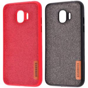 Label Textile | Ультратонкий чехол для Samsung J400F Galaxy J4 (2018) с текстильным покрытием