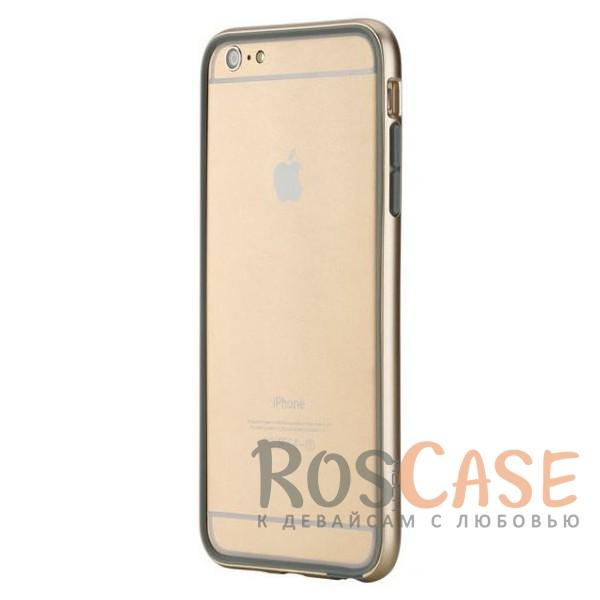 ROCK Duplex Slim Guard | Ультратонкий бампер для Apple iPhone 6/6s plus (5.5) из прочного пластика (Золотой / Champagne gold)Описание:производитель  - &amp;nbsp;Rock;создан специально для Apple iPhone 6 plus (5.5) / 6s plus (5.5);материал - поликарбонат, термополиуретан;защищает боковые части аппарата.Особенности:ультратонкий, всего 2 мм;представлен в широком цветовом диапазоне;простая установка;обладает высоким уровнем устойчивости к внешним воздействиям.<br><br>Тип: Чехол<br>Бренд: ROCK<br>Материал: Натуральная кожа