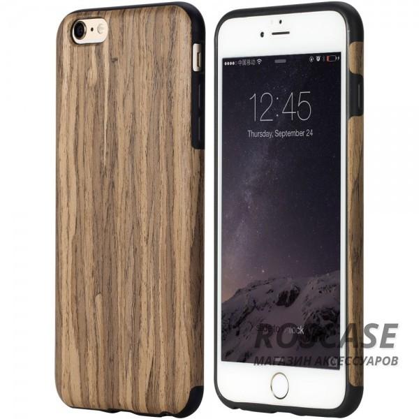 Деревянная накладка Rock Origin Series (Grained) для Apple iPhone 6/6s (4.7) (Rosewood)Описание:чехол изготовлен компанией Rock;предназначен специально для телефонов iPhone модели 6/6s;форм-фактор: накладка;материал: термополиуретан и натуральное дерево.Особенности:чехол выполняет защитную и декоративную функцию;предотвращает появление царапин или других повреждений корпуса телефона;фактура шероховатая;фиксация надежная;текстура приятная на ощупь;дизайн оригинальный.<br><br>Тип: Чехол<br>Бренд: ROCK<br>Материал: TPU