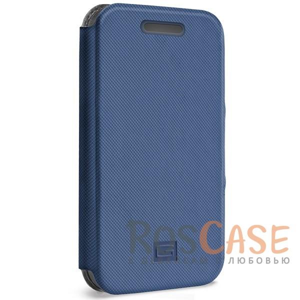 Универсальный чехол-книжка с антискользящим покрытием Gresso Грант для смартфона 4.9-5.2 дюйма (Синий)Описание:бренд -&amp;nbsp;Gresso;совместимость -&amp;nbsp;смартфоны с диагональю 4.9-5.2&amp;nbsp;дюйма;материал - искусственная кожа;тип - чехол-книжка;защищает гаджет со всех сторон;магнитная застежка;предусмотрены все функциональные вырезы;ВНИМАНИЕ: убедитесь, что ваша модель устройства находится в пределах максимального размера чехла. Размеры чехла: 14,5*7,5 см.<br><br>Тип: Чехол<br>Бренд: Gresso<br>Материал: Искусственная кожа