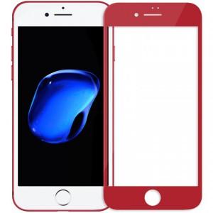"""Объемное защитное стекло Nillkin 3D на весь экран с олеофобным покрытием """"анти-отпечатки"""" для Apple iPhone 8"""