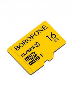 Карта памяти Borofone 16GB microSD Card Class 10 для Meizu M5