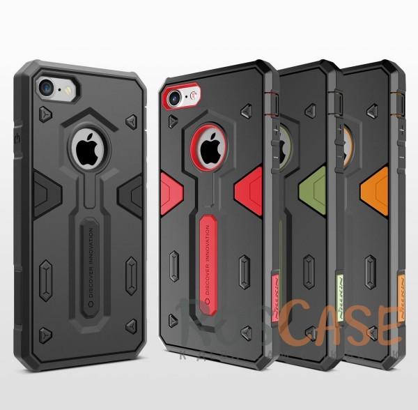 TPU+PC чехол Nillkin Defender 2 для Apple iPhone 7 (4.7)Описание:производитель  - &amp;nbsp;Nillkin;совместим с Apple iPhone 7 (4.7);материал  -  термополиуретан, поликарбонат;тип  -  накладка.&amp;nbsp;Особенности:в наличии все вырезы;противоударный;стильный дизайн;надежно фиксируется;защита от повреждений.<br><br>Тип: Чехол<br>Бренд: Nillkin<br>Материал: TPU