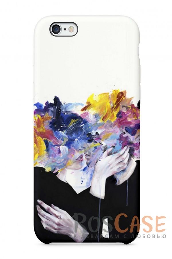 """Фото Чувства Пластиковый чехол RosCase """"Чувства"""" для iPhone 6/6s (4.7"""")"""
