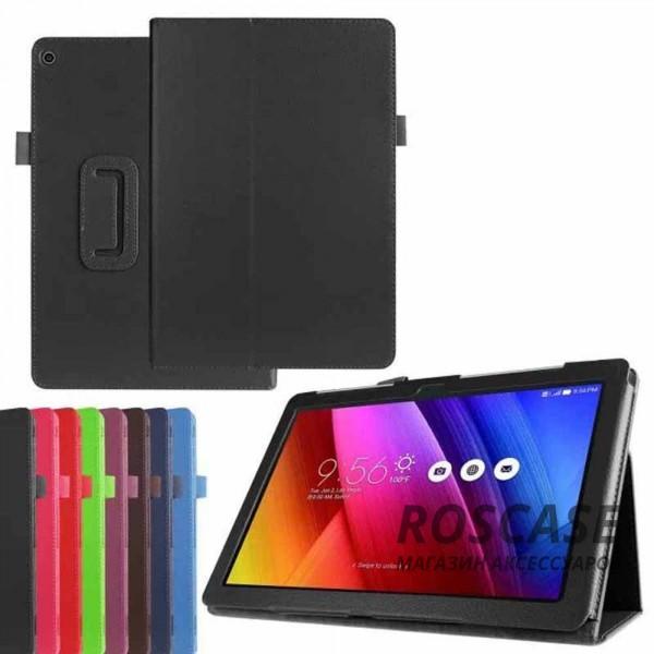 Кожаный чехол-книжка TTX с функцией подставки для Asus ZenPad 10 (Z300C/Z300CG/Z300CL)Описание:производитель  - &amp;nbsp;TTX;разработан специально для Asus ZenPad 10 (Z300C/Z300CG/Z300CL);материалы  -  кожзам и микрофибра;форма  -  чехол-книжка.&amp;nbsp;Особенности:материал не скользит;трансформируется в поставку;защищает от внешний воздействий;долгий срок службы.<br><br>Тип: Чехол<br>Бренд: TTX<br>Материал: Искусственная кожа