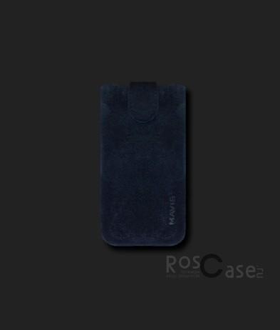 фото кожаный футляр Mavis Premium VELOUR 106x44/112x46 для Nokia 6300/Nokia C5-00