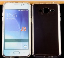 Ультратонкий силиконовый чехол для Samsung J320F Galaxy J3 (2016)