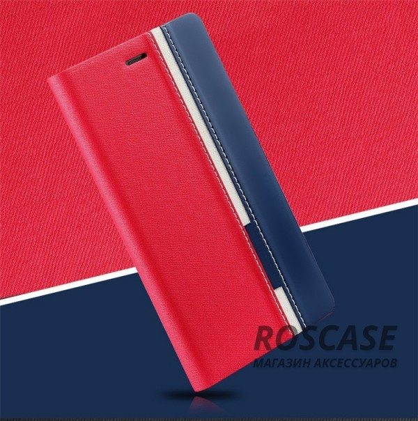 Чехол (книжка) с TPU креплением Stripe series для Doogee Y300/Y300 Pro (Красный / Черный)Описание:произведен компанией&amp;nbsp;Epik;разработан для Doogee Y300/Y300 Pro;материал: искусственная кожа;тип: чехол-книжка.&amp;nbsp;Особенности:все функциональные вырезы в наличии;защита от ударов и падений;не скользит в руках;трансформируется в подставку.<br><br>Тип: Чехол<br>Бренд: Epik<br>Материал: Искусственная кожа