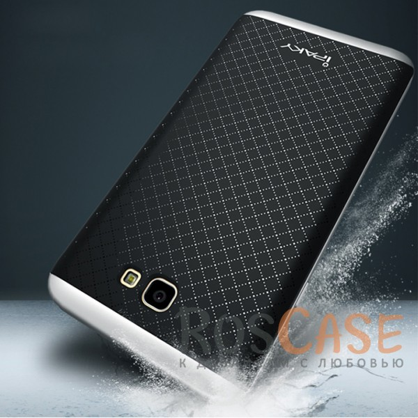 Изображение Черный / Серебряный iPaky Hybrid   Противоударный чехол для Samsung G570F Galaxy J5 Prime (2016)