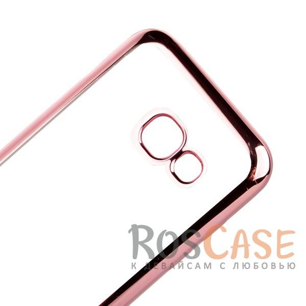 Изображение Розовый Силиконовый чехол для Samsung A520 Galaxy A5 (2017) с глянцевой окантовкой