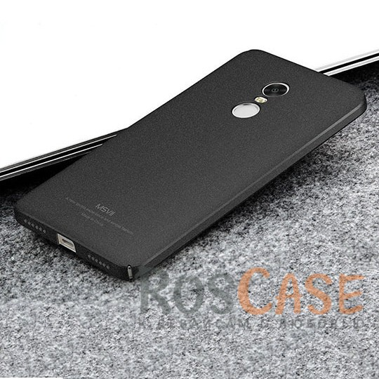 Пластиковый чехол Msvii Quicksand series для Xiaomi Redmi Note 4 (Черный)Описание:производитель - Msvii;совместим с Xiaomi Redmi Note 4;материал  -  пластик;тип  -  накладка.&amp;nbsp;Особенности:матовая поверхность;имеет все разъемы;тонкий дизайн не увеличивает габариты;накладка не скользит;защищает от ударов и царапин;износостойкая.<br><br>Тип: Чехол<br>Бренд: Epik<br>Материал: TPU
