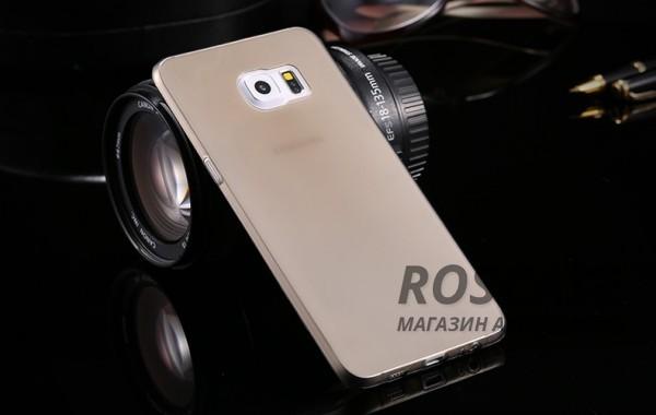 TPU чехол Ultrathin Series 0,33mm для Samsung Galaxy S6 Edge Plus (Серый (прозрачный))Описание:бренд:&amp;nbsp;Epik;совместим с Samsung Galaxy S6 Edge Plus;материал: термополиуретан;тип: накладка.&amp;nbsp;Особенности:ультратонкий дизайн - 0,33 мм;прозрачный;эластичный и гибкий;надежно фиксируется;все функциональные вырезы в наличии.<br><br>Тип: Чехол<br>Бренд: Epik<br>Материал: TPU
