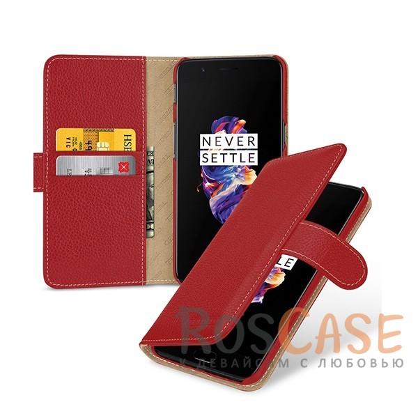 Прошитый чехол-книжка из натуральной кожи TETDED Gerzat с магнитной застежкой для OnePlus 5 (Красный / Red)Описание:бренд  - &amp;nbsp;Tetded;разработан для OnePlus 5;материал  -  натуральная кожа;тип  -  чехол-книжка.в наличии все функциональные вырезы;легко устанавливается;строчка по периметру;магнитная застежка;внутренние кармашки для визиток;защита от механических повреждений;на чехле не заметны следы от пальцев.<br><br>Тип: Чехол<br>Бренд: TETDED<br>Материал: Натуральная кожа