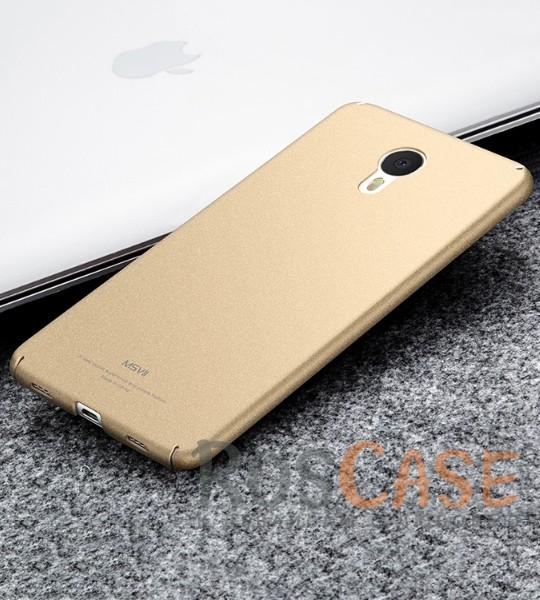 Фото Золотой Msvii Quicksand | Тонкий чехол для Meizu M3 Note с матовым покрытием