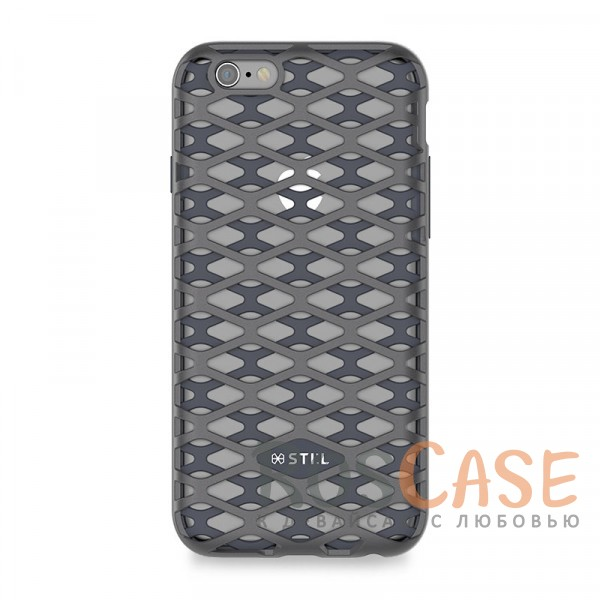Накладка STIL Urban Knight Series с алюминиевой вставкой для Apple iPhone 6/6s (4.7) (Титан)Описание:создан компанией&amp;nbsp;STIL;разработан с учетом особенностей&amp;nbsp;Apple iPhone 6/6s (4.7);материалы - алюминий, термополиуретан;тип - накладка.Особенности:дизайн в виде кольчуги;доступ ко всем функциям гаджета благодаря точным вырезам;защита от царапин и ударов;защита экрана благодаря выступающим бортикам;размеры - 143*72*10 мм, 29&amp;nbsp;гр.<br><br>Тип: Чехол<br>Бренд: Stil<br>Материал: TPU