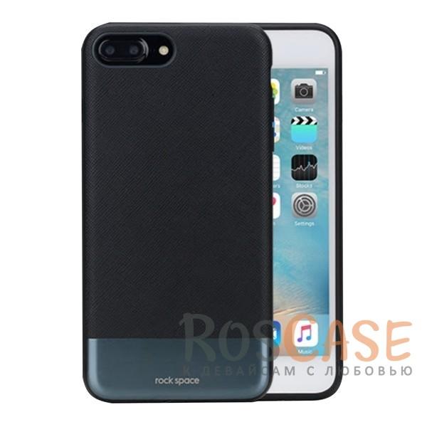 Кожаная накладка с металлической вставкой ROCK Elite Series для Apple iPhone 7 plus (5.5) (Черный / Black)Описание:производитель  - &amp;nbsp;Rock;разработан для Apple iPhone 7 plus (5.5);материал  -  искусственная кожа, металл, поликарбонат;тип  -  накладка.&amp;nbsp;Особенности:металлическая вставка;в наличии все функциональные вырезы;не скользит в руках;амортизирует удары;защищает от механических повреждений.<br><br>Тип: Чехол<br>Бренд: ROCK<br>Материал: Искусственная кожа