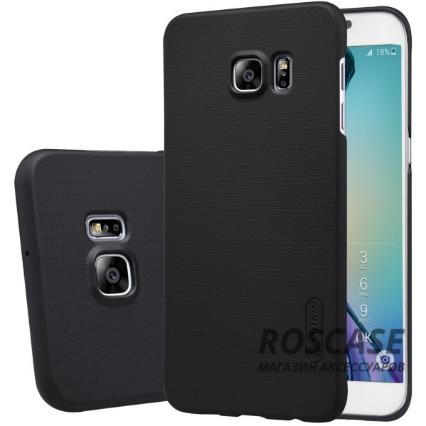 Чехол Nillkin Matte для Samsung Galaxy S6 Edge Plus (+ пленка) (Черный)Описание:производитель -&amp;nbsp;Nillkin;материал - поликарбонат;совместим с Samsung Galaxy S6 Edge Plus;тип - накладка.&amp;nbsp;Особенности:матовый;прочный;тонкий дизайн;не скользит в руках;не выцветает;пленка в комплекте.<br><br>Тип: Чехол<br>Бренд: Nillkin<br>Материал: Поликарбонат