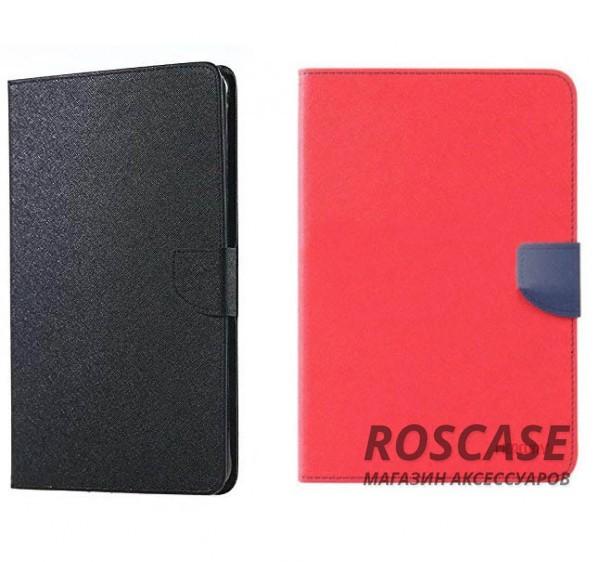 Чехол (книжка) Mercury Fancy Diary series для Samsung Galaxy Tab A 9.7 T550Описание:бренд&amp;nbsp;Mercury;создан для Samsung Galaxy Tab A 9.7 T550;материалы  -  искусственная кожа, термополиуретан;форма  -  чехол-книжка.&amp;nbsp;Особенности:рельефная поверхность;все функциональные вырезы в наличии;внутренние кармашки;магнитная застежка;защита от механических повреждений;трансформируется в подставку.<br><br>Тип: Чехол<br>Бренд: Mercury<br>Материал: Искусственная кожа
