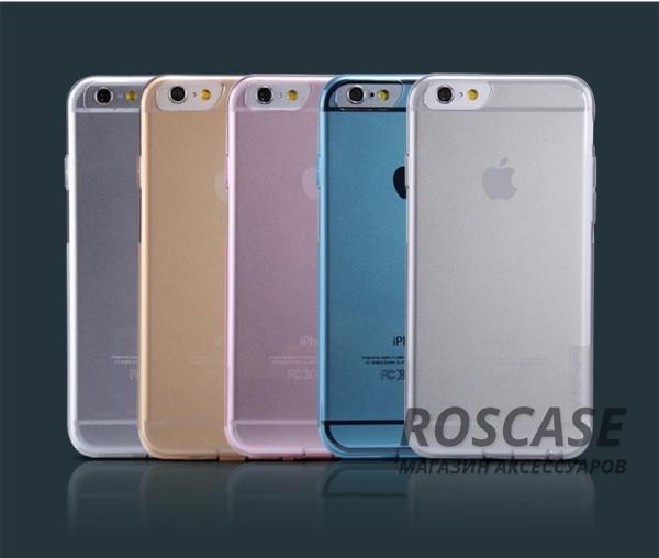 TPU чехол Nillkin Nature Series для Apple iPhone 6/6s (4.7)Описание:производитель  -  Nillkin;совместимость: Apple iPhone 6/6s (4.7);материал  -  термополиуретан;форма  -  накладка.&amp;nbsp;Особенности:в наличии все вырезы;матовая поверхность;не увеличивает габариты;защита от ударов и царапин;на накладке не видны &amp;laquo;пальчики&amp;raquo;.<br><br>Тип: Чехол<br>Бренд: Nillkin<br>Материал: TPU
