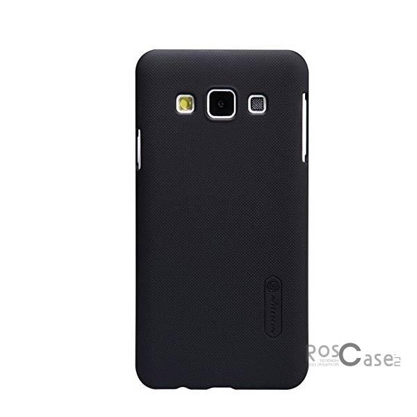 Чехол Nillkin Matte для Samsung A300H / A300F Galaxy A3 (+ пленка)  (Черный)Описание:Чехол изготовлен компанией&amp;nbsp;Nillkin;Спроектирован для Samsung A300H / A300F Galaxy A3;Материал  -  пластик;Форма  -  накладка.Особенности:Полностью защищен от появления потертостей;В комплект входит глянцевая пленка;Имеет ребристое матовое покрытие и антикислотное напыление;Тонкий дизайн.<br><br>Тип: Чехол<br>Бренд: Nillkin<br>Материал: Поликарбонат