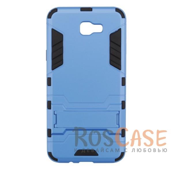 Ударопрочный чехол-подставка Transformer для Samsung G570F Galaxy J5 Prime с мощной защитой корпуса (Синий / Navy)Описание:ударопрочный аксессуар с функцией подставки;чехол разработан для Samsung G570F Galaxy J5 Prime;материалы - термополиуретан, поликарбонат;тип - накладка.<br><br>Тип: Чехол<br>Бренд: Epik<br>Материал: TPU