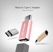 фотография Переходник Nillkin MicroUSB to Type-C
