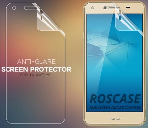 Защитная пленка Nillkin для Huawei Y5 II / Honor Play 5Описание:бренд:&amp;nbsp;Nillkin;разработана для Huawei Y5 II / Honor Play 5;материал: полимер;тип: защитная пленка.&amp;nbsp;Особенности:учитывает все особенности экрана;защищает от царапин и потертостей;функция анти-блик;обеспечивает приватность информации на дисплее;защищает от ультрафиолетового излучения;ультратонкая.<br><br>Тип: Защитная пленка<br>Бренд: Nillkin