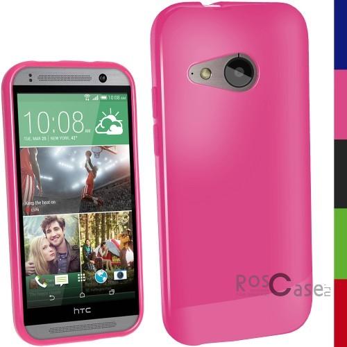 TPU чехол Epik для HTC One mini 2 (Розовый (Soft touch))Описание:разработчик и производитель Epik;изготовлен из термополиуретана;фактура гладкая;тип конструкции: накладка;совместим с HTC One mini 2.&amp;nbsp;Особенности:широкая палитра цветов;эксклюзивный дизайн;прочный и износостойкий;ультратонкий;надежная фиксация;легкая очистка.&amp;nbsp;<br><br>Тип: Чехол<br>Бренд: Epik<br>Материал: TPU