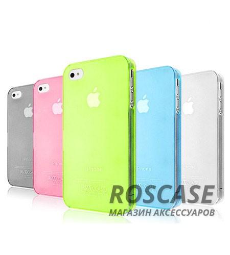 Фото пластикового чехла IMAK 0,7 mm Color series для Apple iPhone 4 / 4S