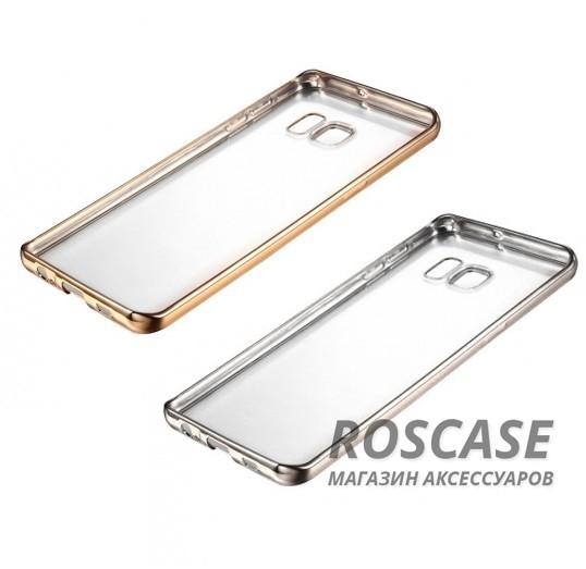 Прозрачный силиконовый чехол для Samsung G935F Galaxy S7 Edge с глянцевой окантовкойОписание:подходит для Samsung G935F Galaxy S7 Edge;материал - силикон;тип - накладка.Особенности:глянцевая окантовка;прозрачный центр;гибкий;все вырезы в наличии;не скользит в руках;ультратонкий.<br><br>Тип: Чехол<br>Бренд: Epik<br>Материал: Силикон