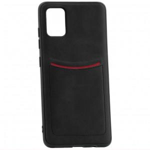 ILEVEL | Чехол с кожаным покрытием и карманом  для Samsung Galaxy A71