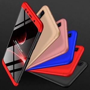 GKK LikGus 360° | Двухсторонний чехол для Samsung Galaxy A9 (2018) с защитными вставками