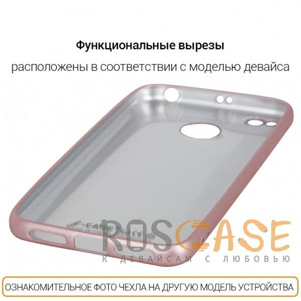 Фотография Rose Gold J-Case THIN | Гибкий силиконовый чехол для Samsung G950 Galaxy S8